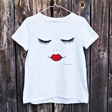 Promocja! :) Koszulka ręcznie malowana. Dostępna od ręki! Kliknij w zdjęcie a...