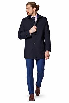 Płaszcz Granatowy Veolia