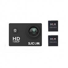 Kamera sportowa SJCAM SJ4000 / 2 baterie + akcesoria / stabilizacja obrazu