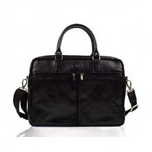 Skórzana męska torba na ramię, laptopa Solier SL01 DUNDEE