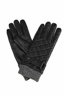 Rękawiczki Pikowane Czarne