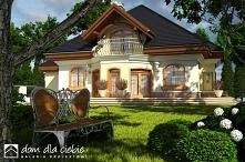 Projekt domu Dzierlatka V to niezwykle efektowna i wytworna rezydencja. Rodzinny, okazały dom piętrowy przeznaczony dla 5-7 osób. Projekt posiada eleganckie wykończenie i nietuz...