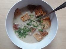 zupa krem pieczarkowa z grz...