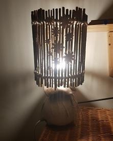 przerobilam sobie lampkę