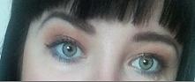 Niebieski dół oka