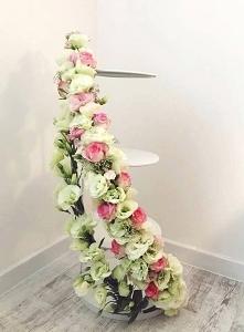 dekoracja patery ślubnej ży...