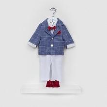 Ubranka do chrztu dla chłopczyka - eleganckie garnitury ze sklepu Stylowy Chrzest.
