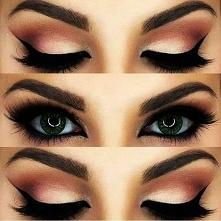czarujący makijaż oczu