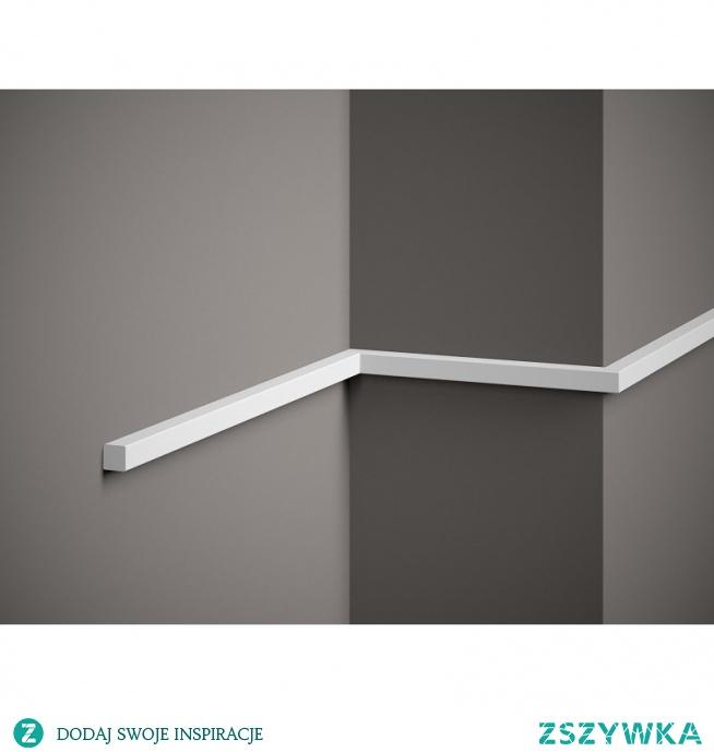 Nowoczesna listwa ścienna MD010 Mardom Decor z kolekcji Elite. Profil listwy ściennej jest prosty i minimalistyczny, bez zdobień o gładkiej powierzchni. Model MD010 Mardom jest o małych symetrycznych wymiarach 200 x 1,5 x 1,5 cm. Biała listwa ścienna montowana jest na klej montażowy Fix Pro Mardom do ściany. Listwy ścienne MD010 możemy zarówno łączyć jak i docinać tworząc własne dekoracje.