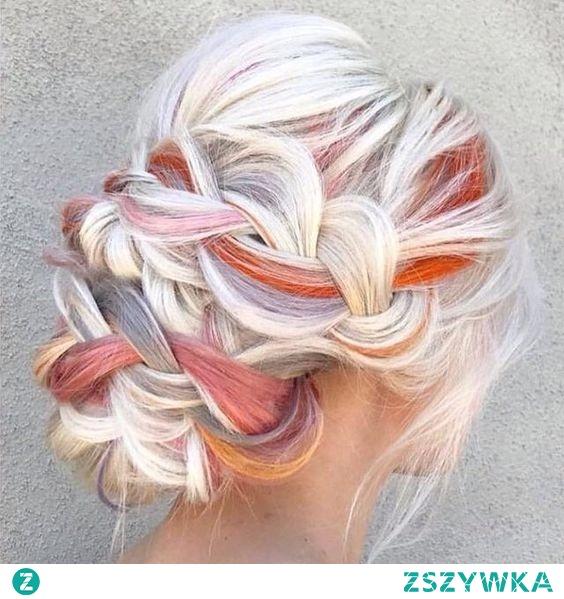 Kolor włosów jasnych