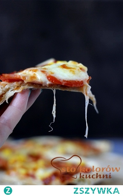 pizza według Jamiego Olivera