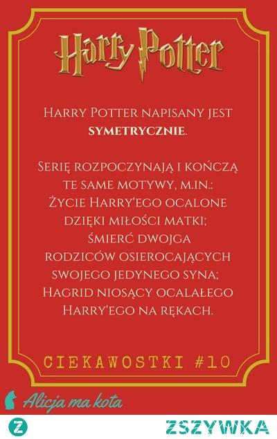 Ciekawostka z książek o HP