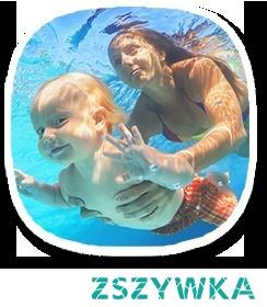 Nauka pływania dla niemowląt to sposób na pogłębienie więzi łączącej rodzica i dziecko.