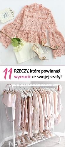11 rzeczy, które powinnaś wyrzucić ze swojej szafy...  1) Bielizna   Pozbądź ...