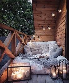 balkon na lato