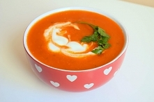 Zupa krem ze świeżych pomid...