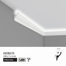Listwa oświetleniowa przysufitowa MDB070 Mardom Decor Prestige to elegancka, nowoczesna dekoracja oświetleniowa. Profil MDB070 Mardom to listwa przysufitowa oświetleniowa pasują...