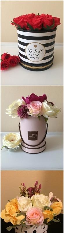 Piękne FlowerBoxy na sprzedaż. Idealne na prezent. Piękny dodatek do każdego mieszkania.
