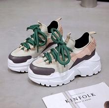 Ultra modne sneakersy damsk...