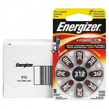Baterie do aparatów słuchowych Energizer 312, 48 szt