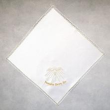 Piękna haftowana szatka na ceremonię Chrztu Św. Szatka pięknie się prezentuje...
