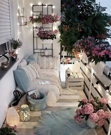 Marzy mi się taki balkon ♡♡♡
