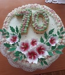 Tort wykonany z okazji urod...