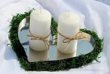 Podstawka pod świece/znicze ze stali nierdzewnej w kształcie serca 42,00 PLN