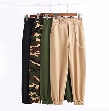 Damskie spodnie w stylu militarnym to totalny hit sezonu :) Kliknij w zdjęcie...