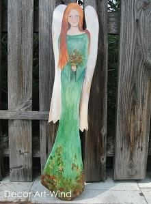 jesienny anioł, wys. 70 cm