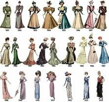 Moda lata 1891 - 1914.