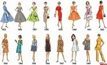 Moda lata 1955 - 1970.