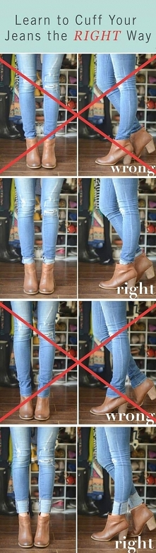 jak nosić botki i jeansy ;)