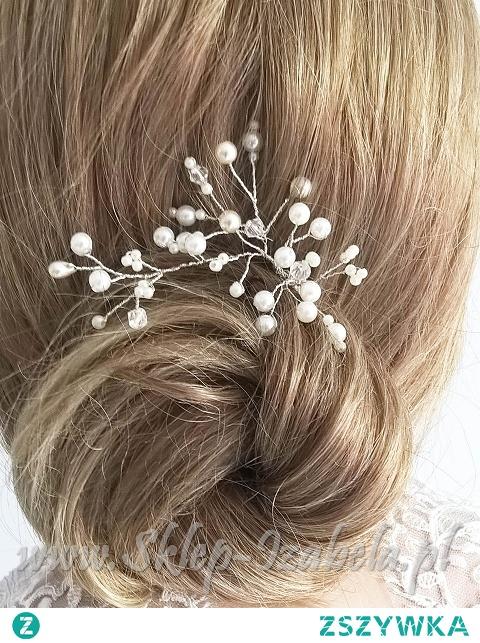 ozdoby do fryzury ślubnej