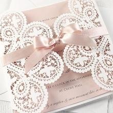 DIY Zaproszenia ślubne, na wesele - próbka diy