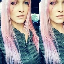 ash pink blonde