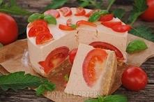 Pomidorowy tort  Tortownica...