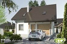 Turkawka to propozycja projektowa niewielkiego domu jednorodzinnego z wykorzy...