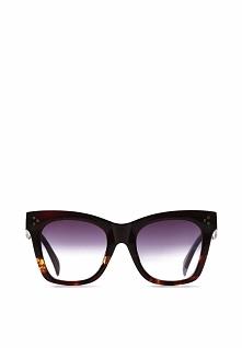 Brązowo-Pomarańczowe Okulary Daiquiri