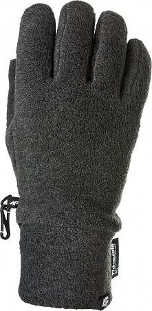 4f Rękawiczki zimowe unisex H4Z17-REU002 4F szary roz. S