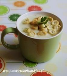 Zupa kalafiorowo-serowa