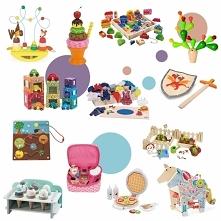 Piękne drewniane zabawki (linki po kliknięciu w zdjęcie)