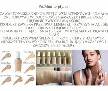 podkład idealny do każdego typu skóry, nie zapycha porów, chcesz informacji j...