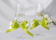 kieliszki na wesele dla Mło...