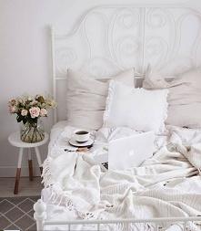 biel w sypialni