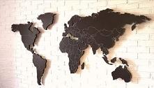 Ręcznie wykonana mapa ścienna 2100mm x 1200 mm x 30mm że styropianu, w atrakc...