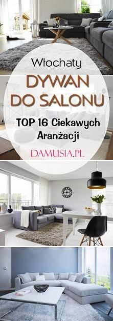 Włochaty Dywan do Salonu: TOP 16 Ciekawych Aranżacji