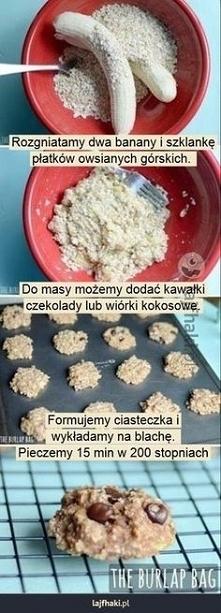 szybkie ciastka owsiane