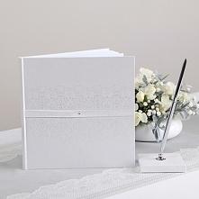 KSIĘGA GOŚCI komunijnych White Dream Wyjątkowo elegancka księga gości komunij...