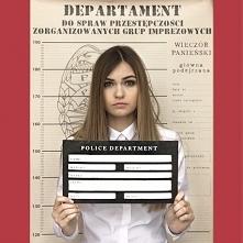 Zabawny plakat policyjny do robienia zdjęć zapewni Wam super pamiątkę z wiecz...